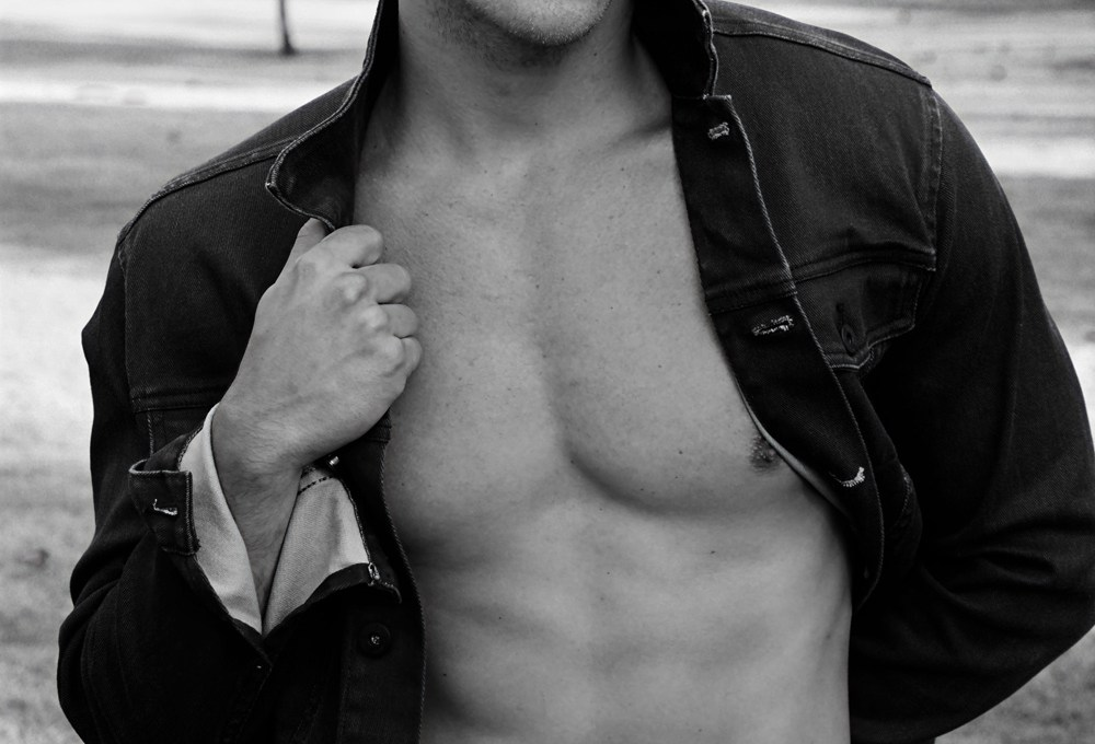 A real natural in front of the camera, dashing American model Clayton Bailey gives young photographer from Switzerland living and working in L.A Antonio Cudemo perfection with every shot in this showstopping session captured on location.