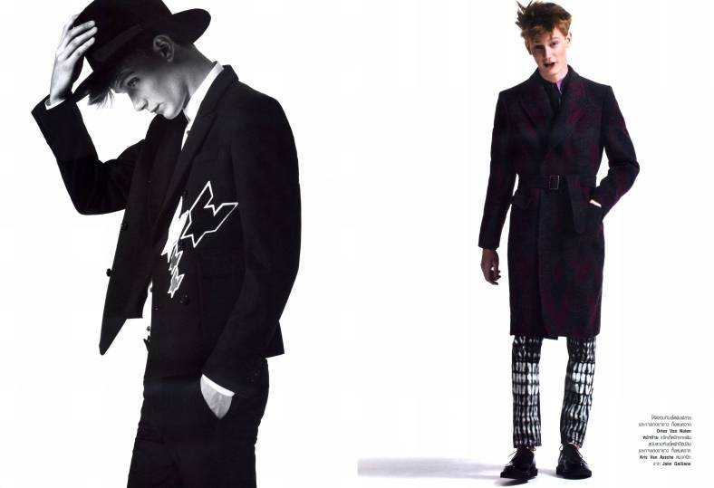 Malcolm De Ruiter in Little Prince | Harper's Bazaar Men Thailand