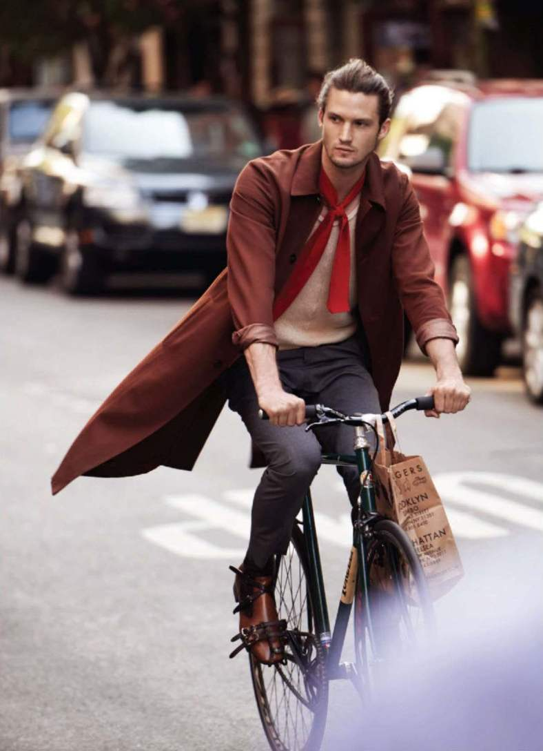 Out November 2014 'I WANT TO RIDE MY BICYCLE' Ph: Bjarne Jonasson Styling: Mitchell Belk