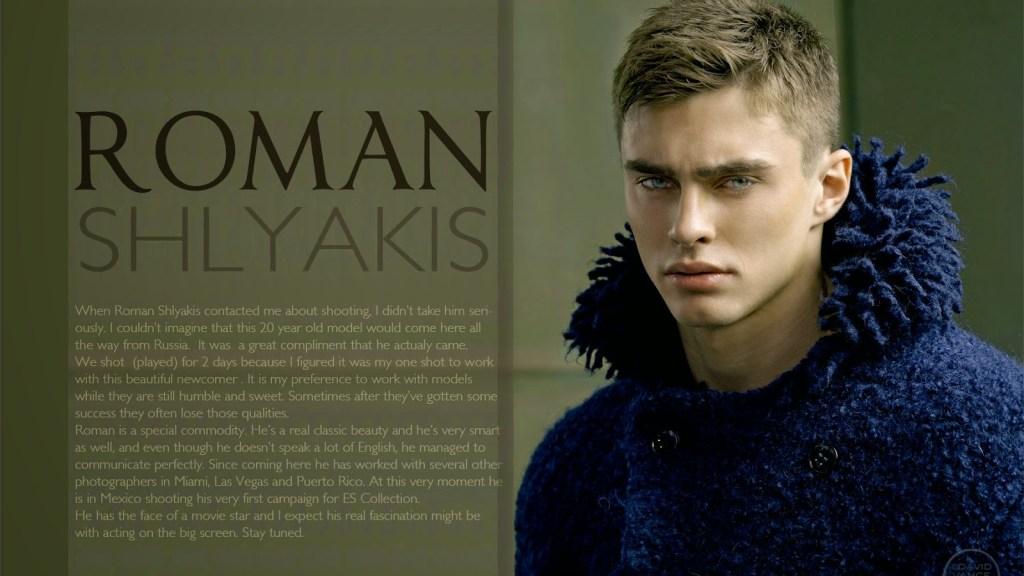 ROMAN SHLYAKIS BY DAVID VANCE