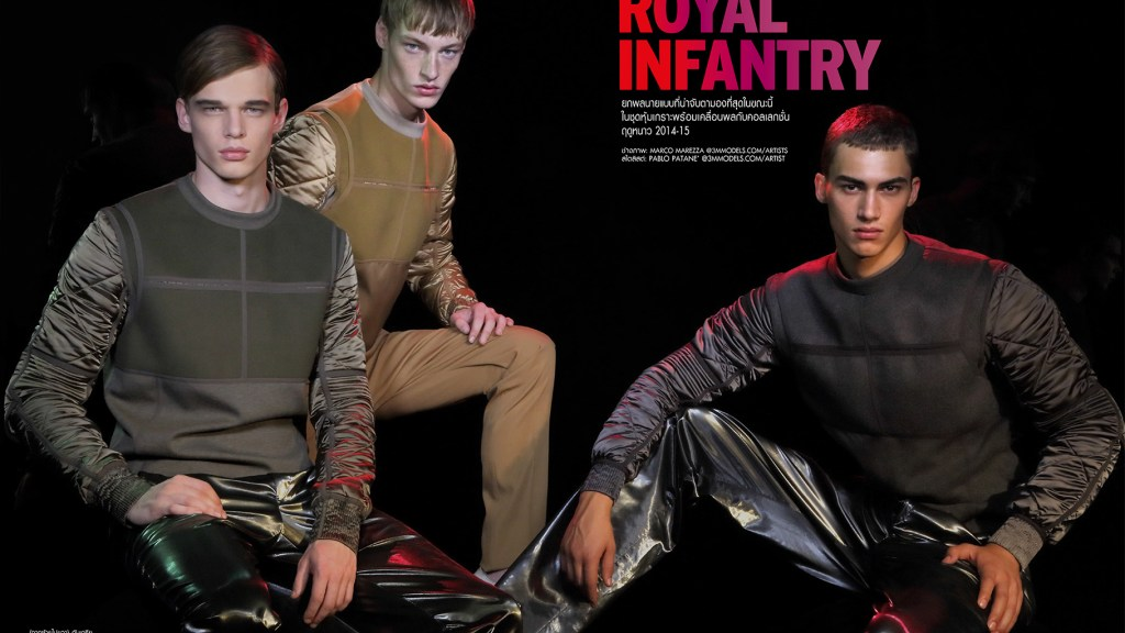 ROYAL INFANTRY | L'Officiel Hommes Thailand