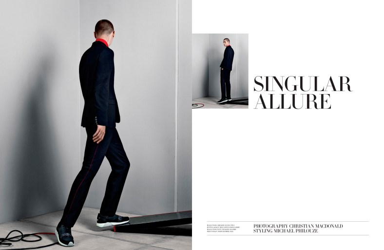 Dior Magazine #8 'SINGULAR ALLURE' Ph: Christian MacDonald Styling: Michael Philouze