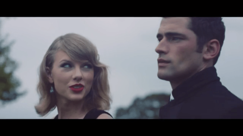 Sean O'Pry stars new video from Taylor Swift