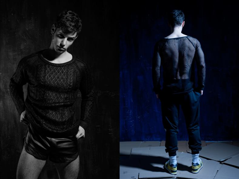 Photography and Production by The W, Styling by Daniel Foltynek, model Jakub from Supermodamanagement and Sid.