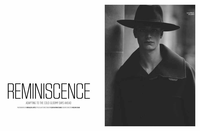 'Reminiscence' by Urivaldo Lopes for August Man Malaysia December 2014