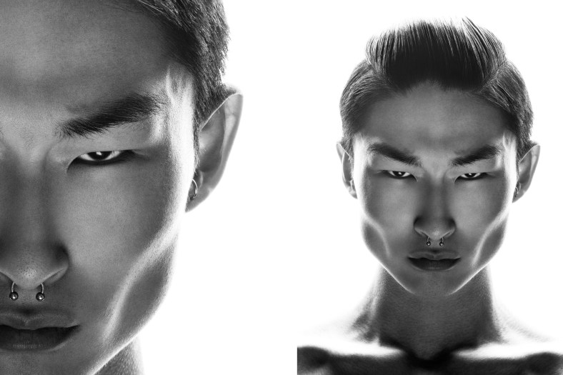 #SideriousHeadshot of Sang Woo of SELECT by Michael Silver
