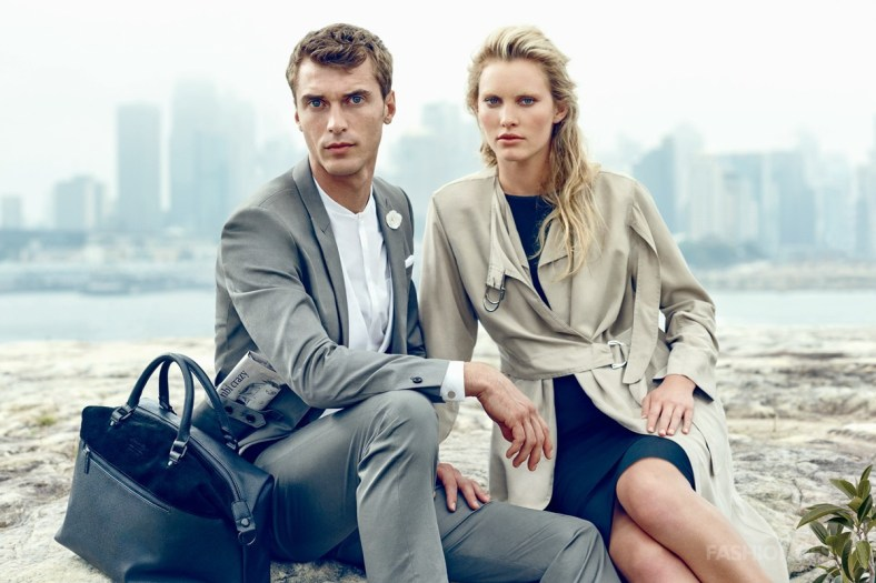 Following David Gandy, Selected invited France's top male model Clement Chabernaud shooting the new season advertising blockbusters. For Selected terms, Clement mean more young and with the nature of the image, and this season's fashion sense by showing the technology is never there before. In addition, large areas of the Western model offered Selected dressed women, will also be officially landed in China in 2015.