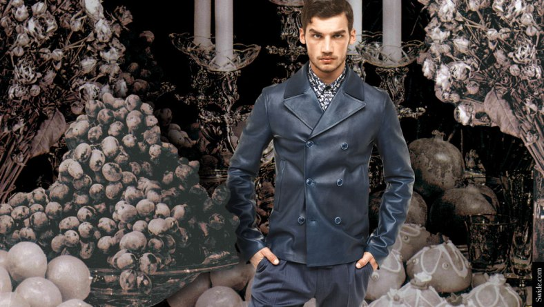 how-to-dress-for-a-family-christmas-party-holiday-looks-with-dolce-and-gabbana-ss-2015-menswear-leather-jacket