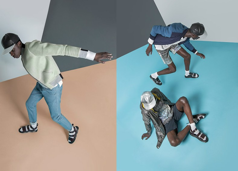 Aly Von Ndiaye at Boss Model and Jean Mpalomby at Red Model, photographed by Beheshteh Zebhi and styled by Brendon Alexander with pieces from Anzevino + Getty, DDUGOFF, G-Star Raw, Martin Keehn, General idea, Soulland, Franco Locasta and Fingers Crossed, in exclusive for Fucking Young! Online.