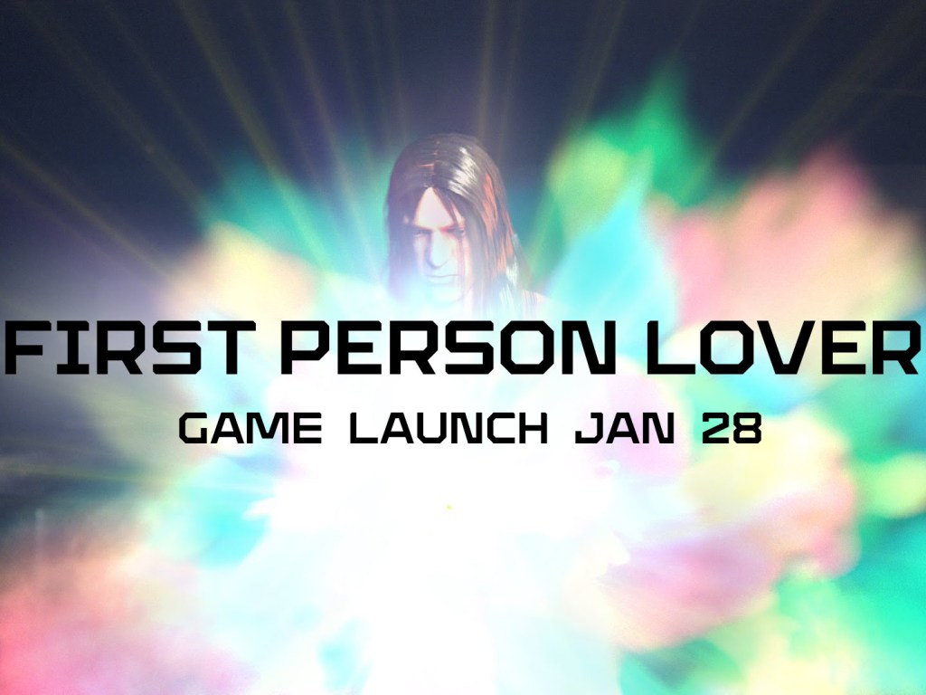 First Person Lover game launch on January 28th! www.firstpersonlover.com