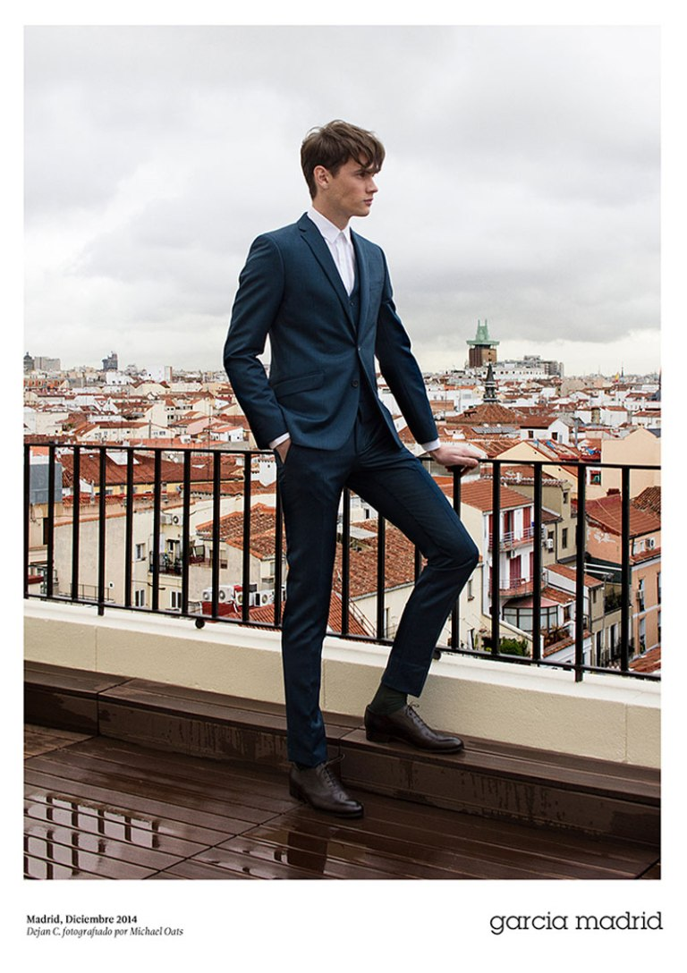 García Madrid Spring/Summer 2015 campaign captured by Michael Oats. A ray of light. A happy thing. A clear, clean, elegant, timeless style proposal. One step more for the Spanish label founded by Manuel García Madrid. A personal and renewed vision from the best of traditional tailoring.  www.garciamadrid.com