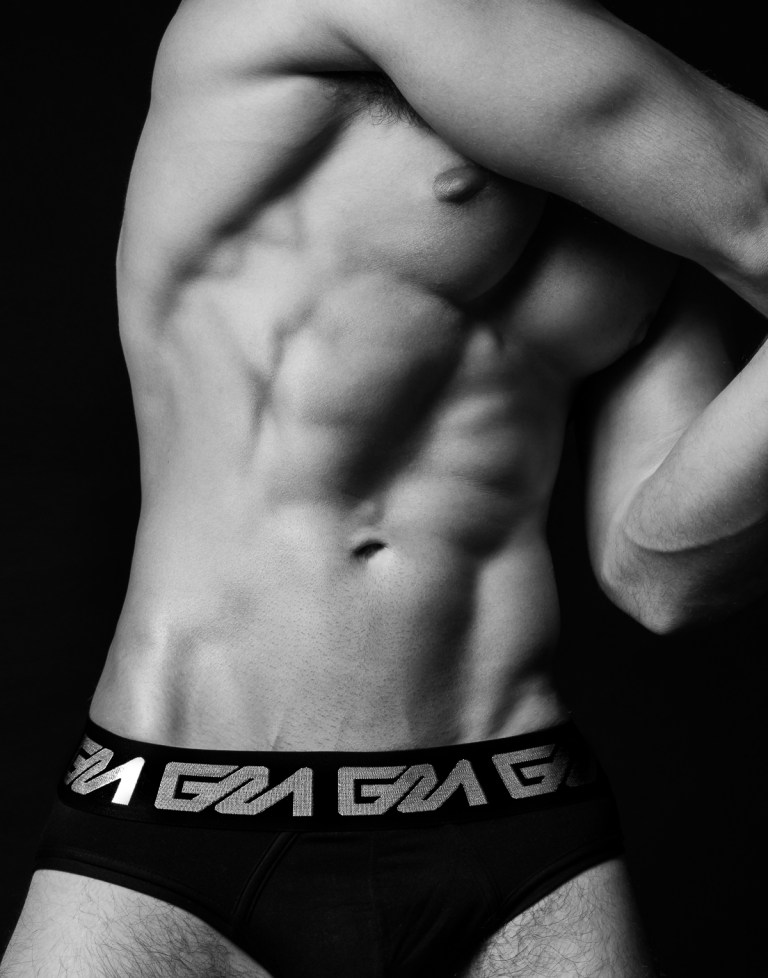 A lovely candid set starring by Greek adonis Thomas Keal photographed in B/W shoot by Brian Jamie. Thomas is wearing Garçon Model brickell briefs.