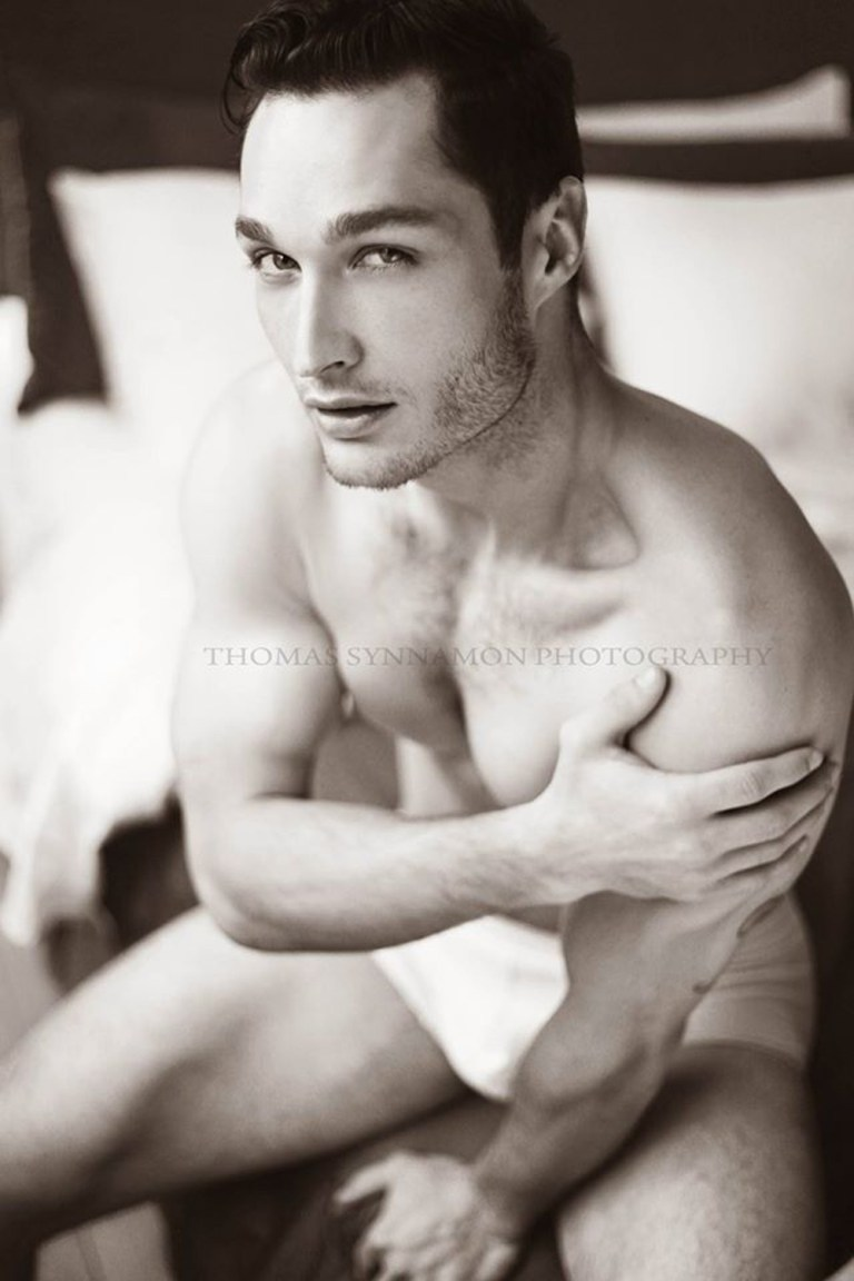 The exquisitely promising American model Ivan Hodges astounds in this striking set by photographer Thomas Synnamon.