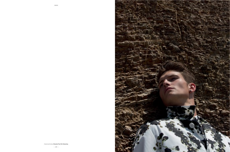 Fashion photographer Karl Simone presents his new editorial with Top Model John Todd at New York Models for L'Officiel Hommes Switzerland shooting in Lima, Peru. Production and Art Direction by Giorgio Ammirabile at The Rooms Fashion. Styling by Fleur Huynh Evans.