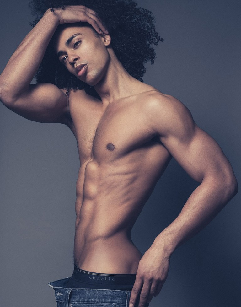 Paris based new comer Christopher Kadima in his trip to New York connecting with talented photographer Brian Jamie.