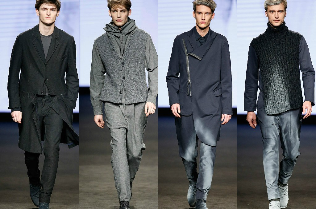 With an interesting mix of materials, winter collection Josep Abril presented at the 080 Barcelona Fashion oversize where cuts are accompanied by pure rough cuts for winter shades, betting on gradated prints on fabrics items.
