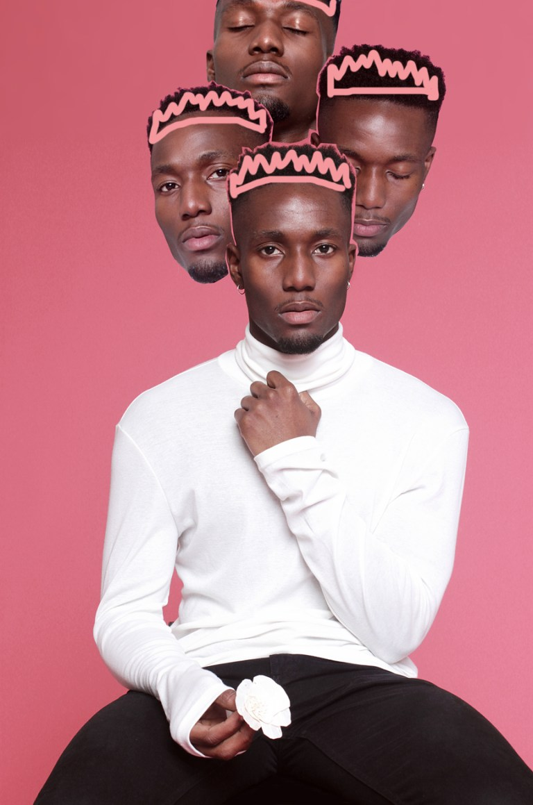Don't Police My Masculinity - Alexander Ikhide by Seye Isikalu    In a world where Hyper-masculinity is unfailingly sold to us on a daily basis, 'Don't Police My Masculinity' playfully explores ideas of self-love, self-acceptance & general care-freeness of the Black Male in particular.  happy valentine's day people! love yourselves first!
