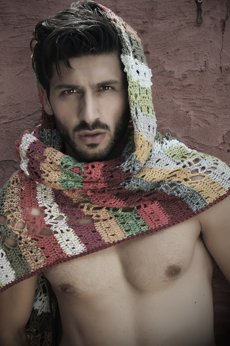 """uomo naturale"" the new work by Spanish lensman Pascual Ibanez with sexy Italian newcomer Samuele Zanni (EP Models), styling by Francis Montesinos."