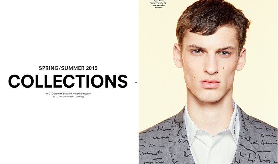 Another Man S/S 2015 Photographer: Benjamin Alexander Huseby Styling: Ellie Grace Cumming