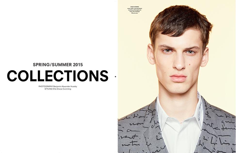 Another Man S/S 2015 Photographer: Benjamin Alexander Huseby Styling: Ellie Grace Cumming