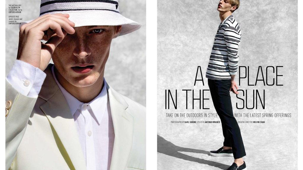 Roberto Sipos at Soul for August Man Malaysia