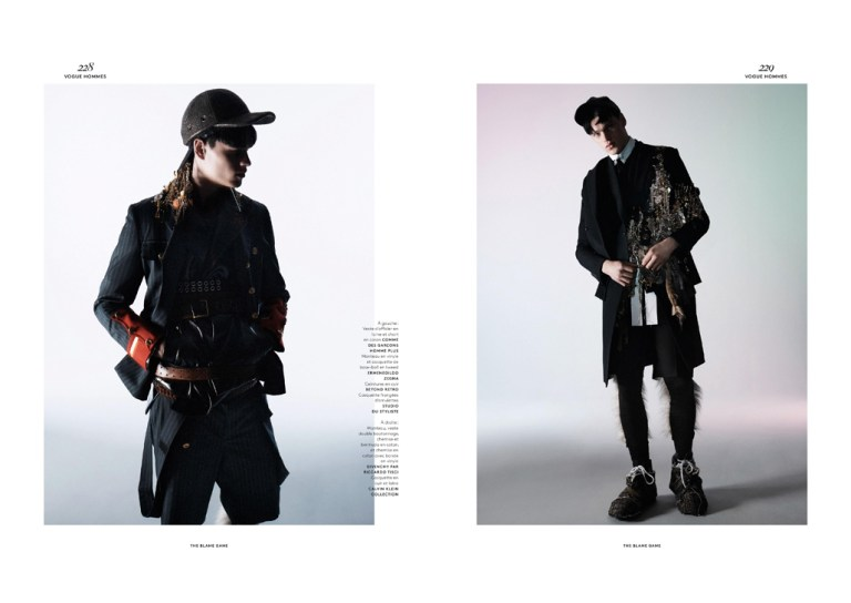 Supermodel Filip Hrivnak embraces our screens with super luxury editorial for Vogue Hommes International SS15 with a beautiful photography of David Sims and styling by Panos Yiapanis.