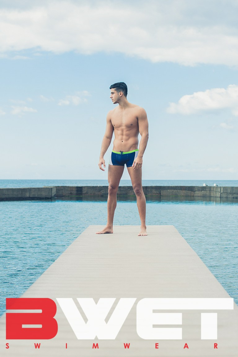 Yera Fontes, a friend of the photographer, is seen here wearing BWET Swimwear. Shot by Adrián C. Martín at La Playa de las Americas in southern Tenerife, Canary Islands. Photos courtesy of Martín, who can be found on Instagram at @adriancmartinphoto.
