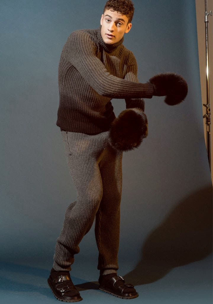 """VMAN Online presents """"New Season, New Moves"""" by Ben Lamberty styled by Julián Antetomaso in this incredible and dynamic session."""