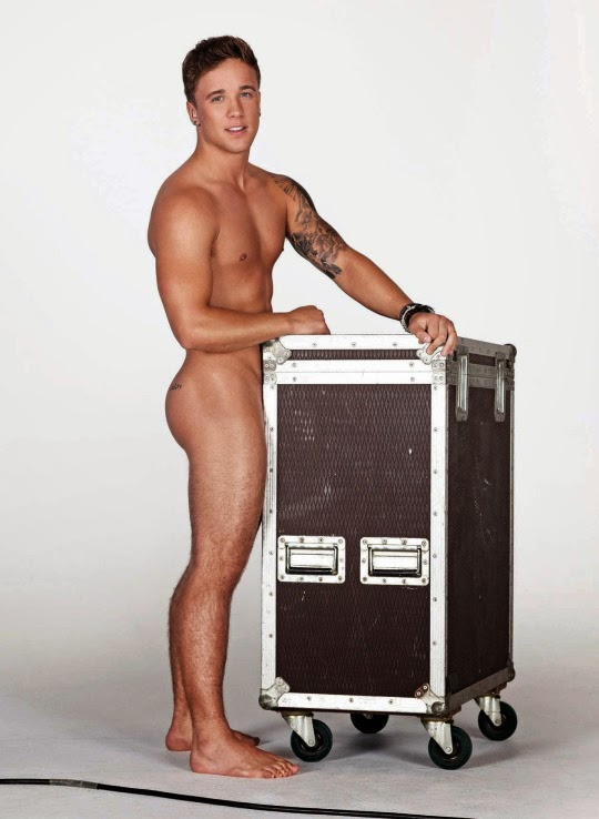 Sam Callahan goes X-rated for GT Magazine, the sensation X-Factor posing half naked for all of us.