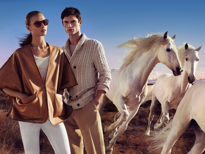 """Back again presenting Massimo Dutti The Equestrian Collection"""" S/S 2015 by talented Hunter & Gatti.  """"Always true to a certain image and an approach that stands between that which is artistic and the familiar. That is precisely the technique so as to again create scenes that emanate magic in an affable universe."""""""