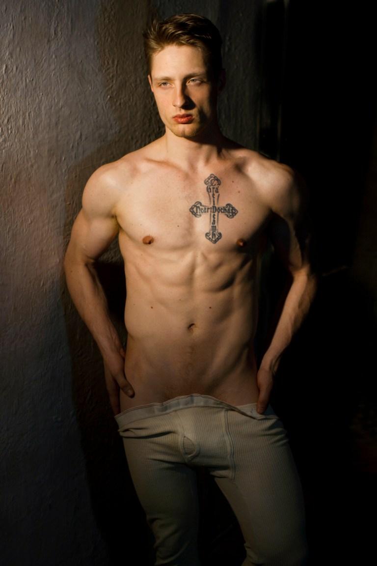 Possessing  a 'raw beauty' ravishing male model Brock Chapman in a sequel from lensman Joseph Bleu.