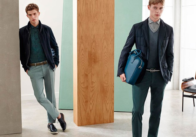 The perfect touch of class in an informal setting. Take a look at S/S 2015 Catalogue from Ermenegildo Zegna.