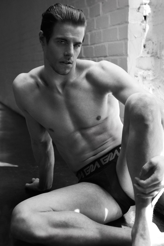 """We have two nice surprises from our dearest friends from Garçon Model, first is beauty male model Jules Horn shot by Skye Tan and titled """"A Lesson in Underwearology."""". Second, Garçon Model gives us an additional 15% discount code for every reader who would like to give Garçon Model a spin: GMXTRA15%"""