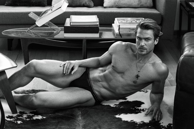 In the modeling industry, the fragrance contract is a holy grail of sorts, and few are quite as precious as Giorgio Armani's Acqua di Gio, one of the world's best-known colognes. The Acqua di Gio campaign helped launch the careers of Lars Burmeister and Simon Nessman to new heights, and Jason Morgan is the latest to take his spot in the iconic ads, shot this time around by Matthew Brookes.