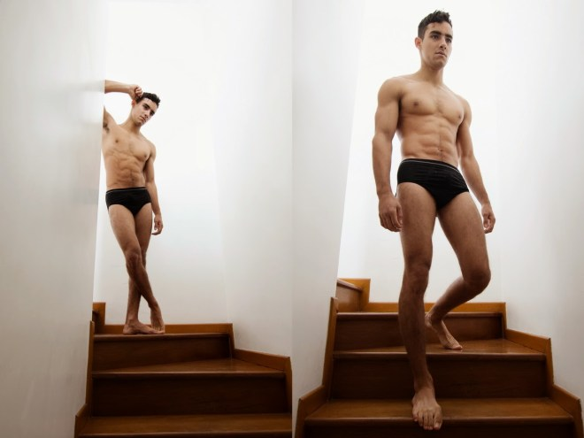 Peruvian model Austin Palao Castro by Tino Vargas