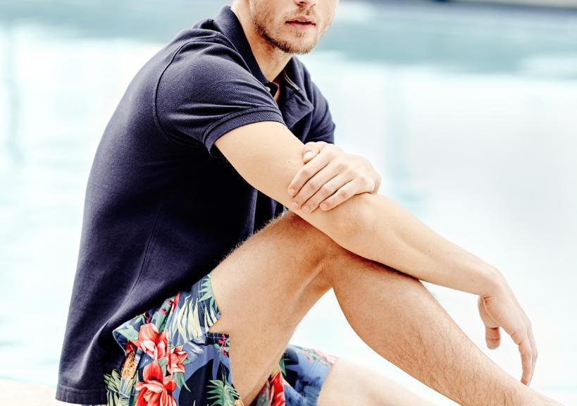 Tommy Hilfiger Meet Me at the pool with new arrivals for Men's Look 2015.