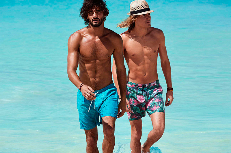 08b4028b12e63 H&M Beachwear S/S 2015 Campaign - Fashionably Male