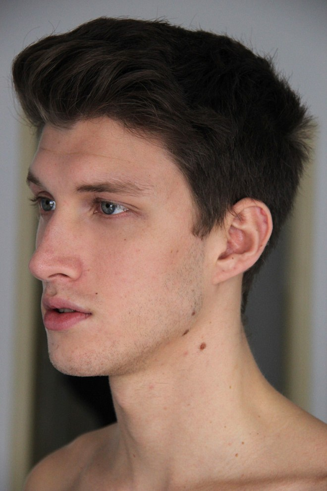 Updated polas for Inboga Mag of new face Juan Manuel Oubina already signed at DHR Models Argentina
