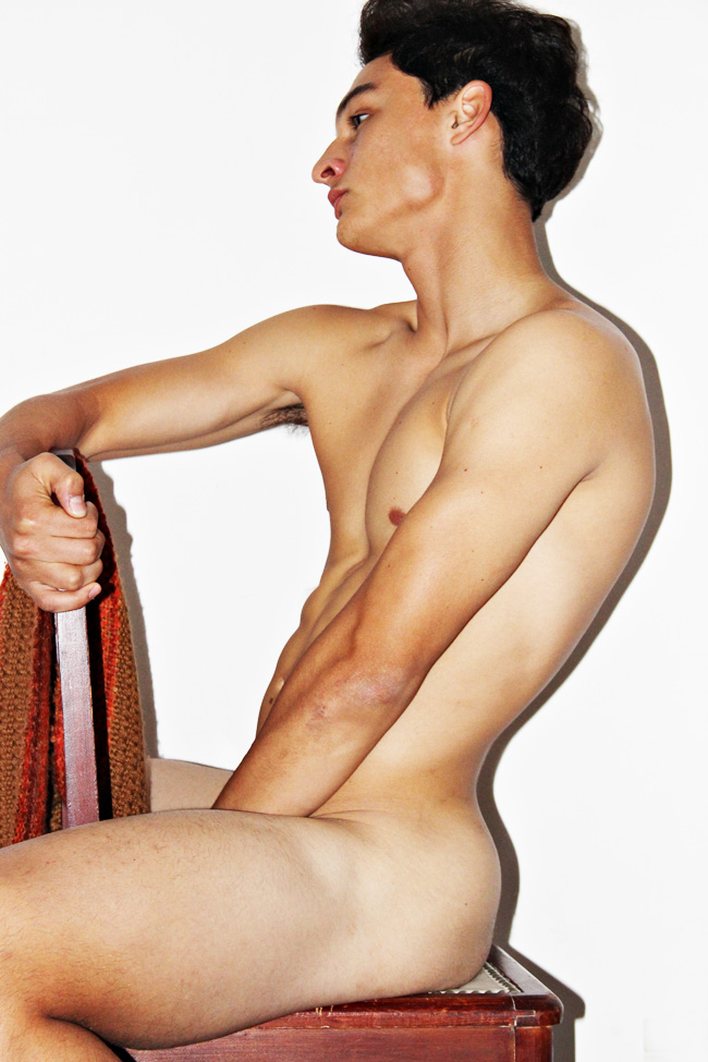 Uncensored fresh digitals Juan Salmeri the new muse at DHR models, snapped by Diego Restivo for Inboga Mag.