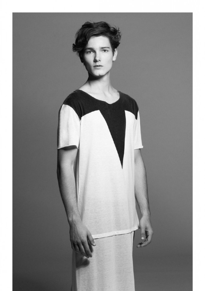 Beautiful face Josué Wiese shot by Lucas Fonseca styled by Manoela Fiãs. Josué is signed by Way model.