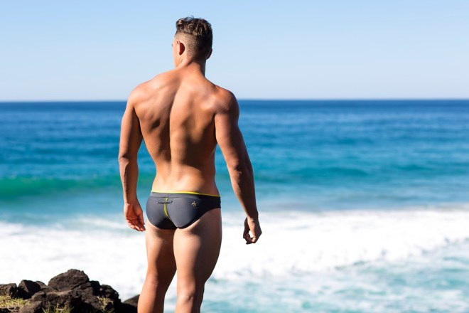 Joshua Kristenson splendid posing the new line collection from Marcuse in a aphrodisiac marveling place shot by Russell Fleming.