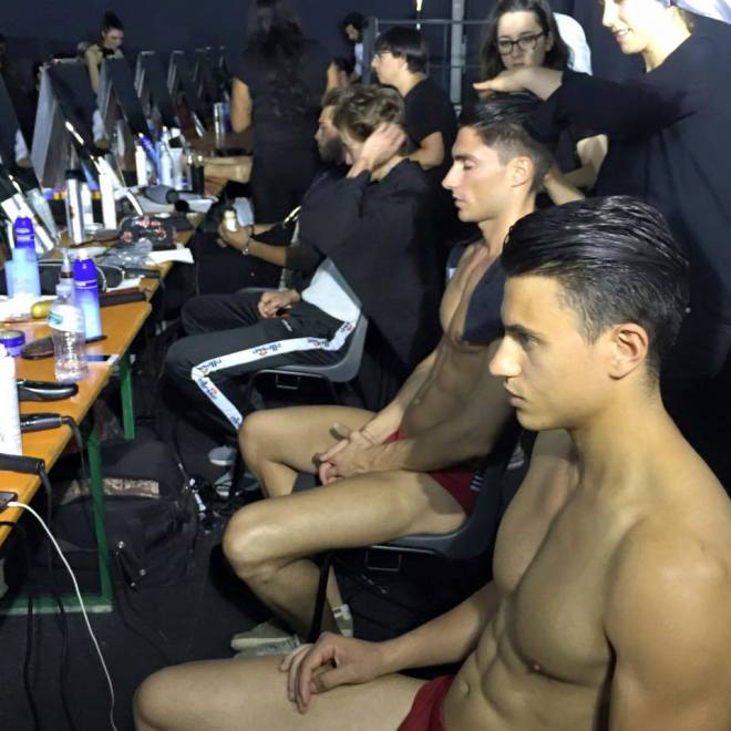 The human bodies are ready too for ‪#‎DirkFashionShow‬ Enjoy the live of the opening show of the ‪#‎MilanFashionWeek‬ ▶ http://bit.ly/DB_FashionShow