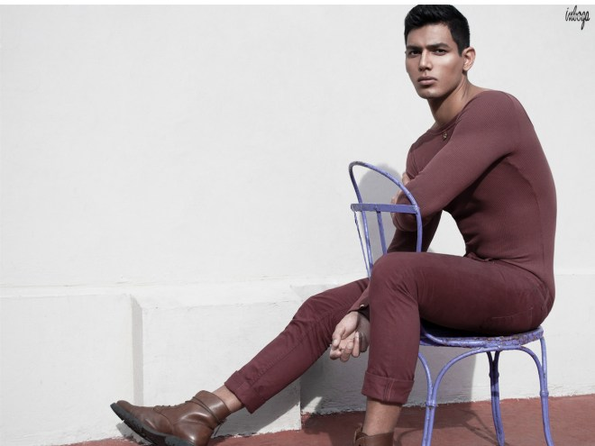Latest editorial from Inboga Mag with new dashing model Cristiano Dangelo at DHR Models photographed by Jo Herrera.1