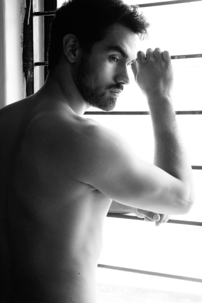 """""""Lonely"""" a beautiful portrait featuring in exclusive for Fashionably Male we'd like to present a beautiful newcomer Mexican Luis Montoya signed by SMP Agency photographed by Afif Kattan a talented gifted portrayer"""