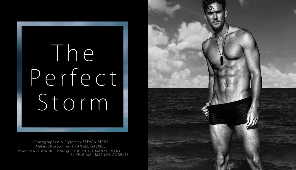 """I know you like this kind of beach sessions with fresh new faces, well this is an exclusive work by photographer Stevan Reyes starring by male model Matthew Billman represented by Soul Artist Management, MSA Models LA, and Elite Models Miami. Exclusive shot entitled """"The Perfect Storm"""", with a grooming by Angel Gabriel. Thanks by Stevan and Matthew beautiful work!!!!"""