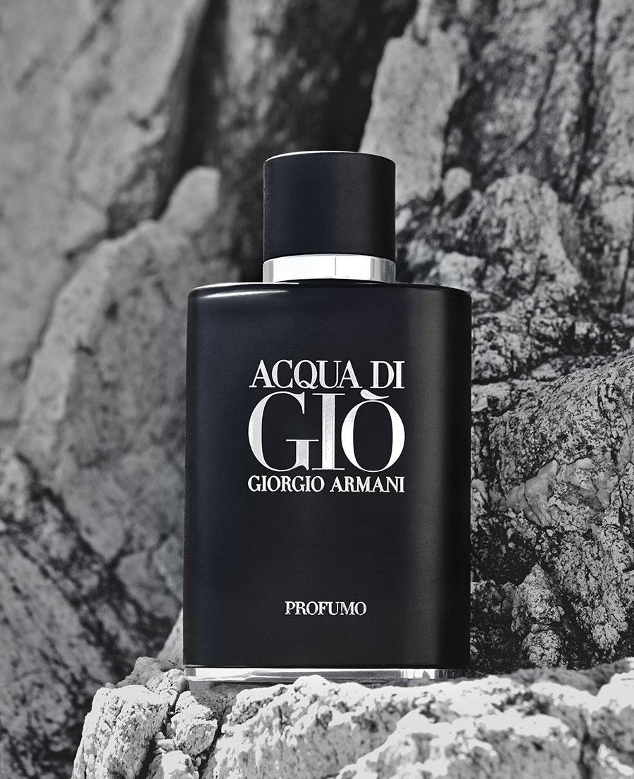 The new fragrance Acqua di Gio Profumo by Giorgio Armani