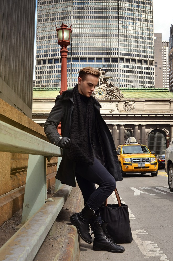 Professional Dancer from Australia Patrick Cook shot in New York City by Bosnian Photographer Mladen Blagojevic when he traveled a few months back ago.