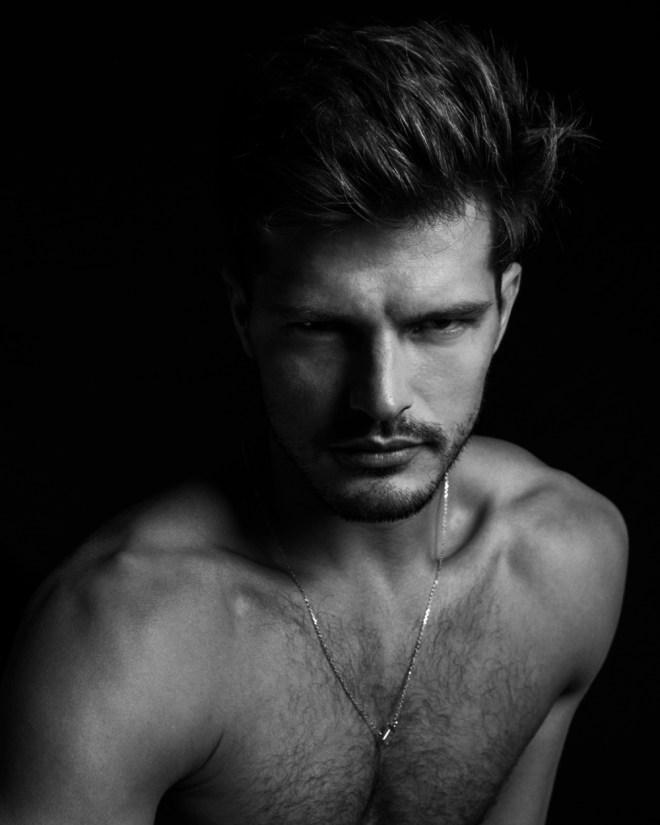 Sublime portrait of top model Diego Miguel by Matthew Pandolfe