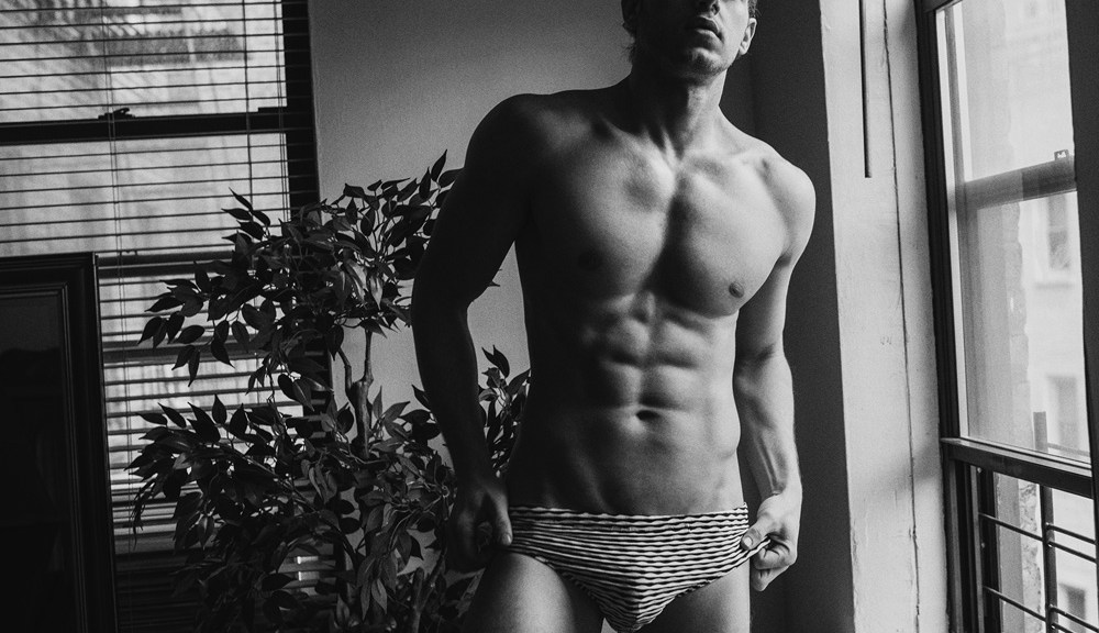 Attractive model, dancer, singer and one of the winners of the latest edition of Broadway Bares benefit show in fantastic images Russian photographer Serge Lee and styling of our admired and good friend of this website, Kai Jankovic.