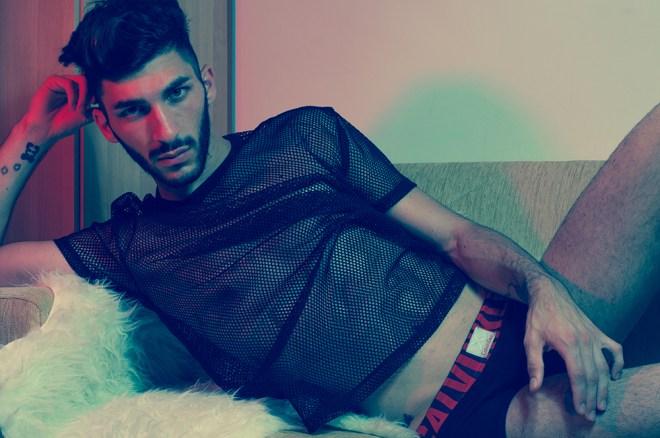 Meet hot new male model Manuel Colarusso by Ryan Del Espiritu Santo.